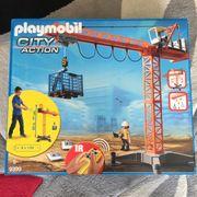 Playmobil 5398 - Kran mit IR-Fernbedienung - vollständig