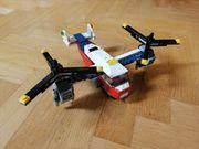 Lego Creator Flugzeug Hubschrauber 3