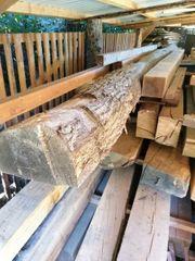 Eichenstamm halbiert trocken 455cm 17cm