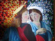 Acrylbild Die Engel von 1990
