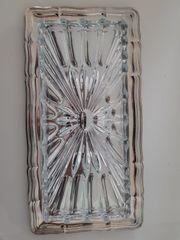 Kuchen Platte Bleikristall