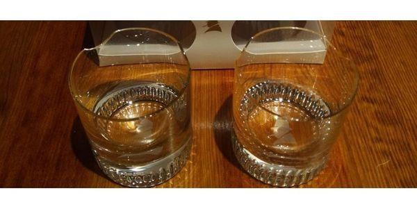 2 Stück Churchill Rum- Whiskygläser -