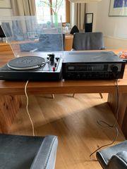 Plattenspieler Verstärker Tuner CD Player
