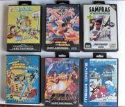 6 Sega Mega Drive Spiele