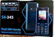 Neues DUAL-SIM-Markenhandy Kamera Bluetooth und
