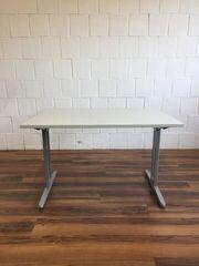 Schreibtisch 120x80 grau