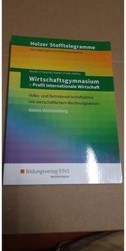 Holzer stofftelegramme Wirtschaftsgymasium - Profil Internationale