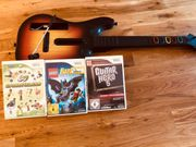 Nintendo Wii inkl Gitarre