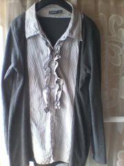 Damen - Blusenshirt - Bluse - Shirt - langarm - X
