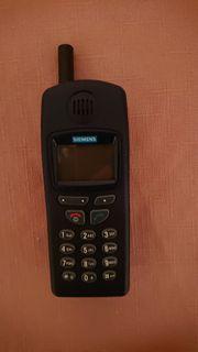 Siemens Handy mit Tasche