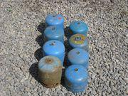 8 MAL CAMPING GAZ FLASCHEN