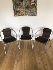 Bistro-Stühle 3 Stück