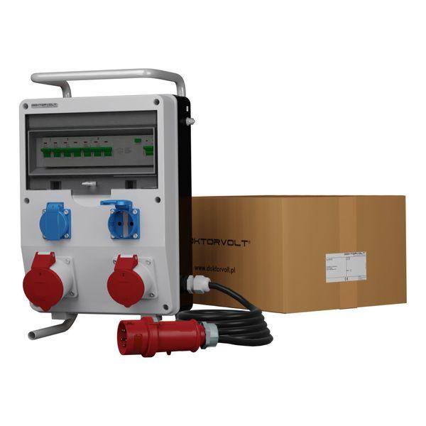 Mobilverteiler Baustromverteiler ECO-S FI 32A