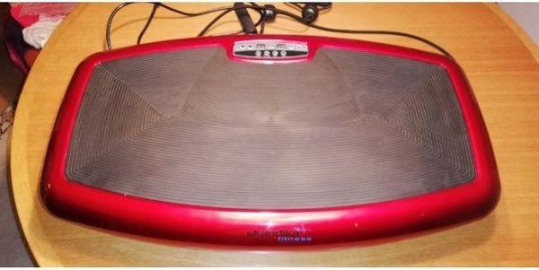 Skandika Vibrationsplatte mit Fernbedienung und