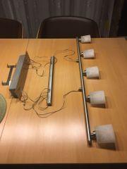 dimmbare Esstischlampe aus Edelstahl