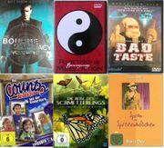 Umfangreiche DVD Sammlung
