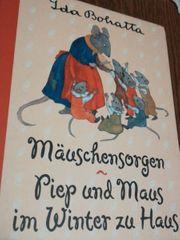 Kinderbuch Mäuschensorgen - Piep und Maus