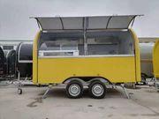 Verkaufsanhänger Mobiler Eiswagen Imbissanhänger imbisswagen