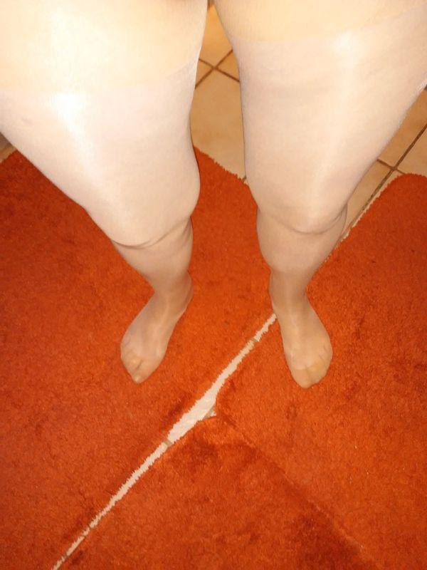 Gebrauchte Damen Strumpfhose Frisch Getragen
