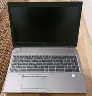 HP zbook 15G6 i7 9850H
