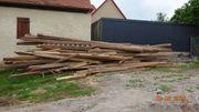 alte Holzbalken zu verschenken