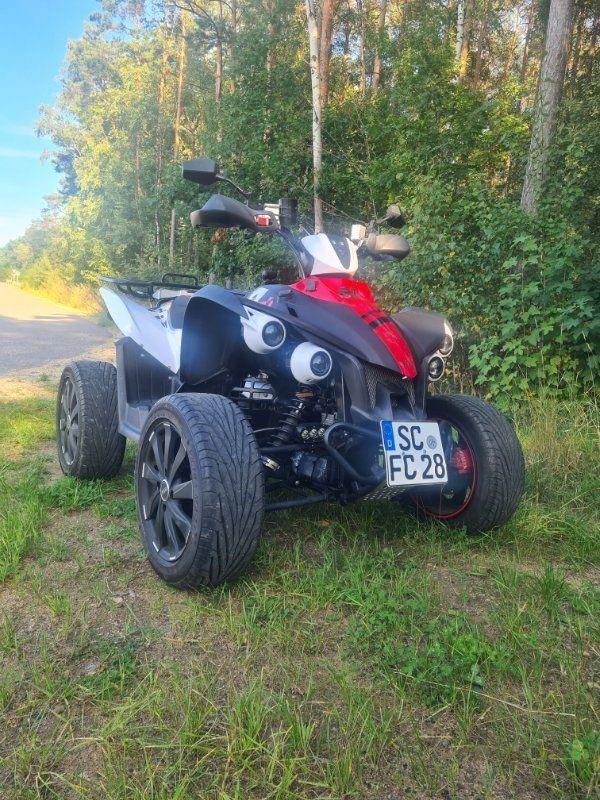 TGB Gunner Quad ATV