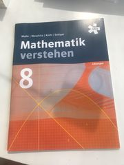 Mathematik Verstehen 8 Lösungsbuch