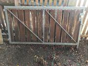 Gartentor 2 teilig