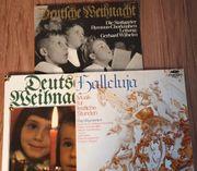Schallplatte LPs Weihnachten