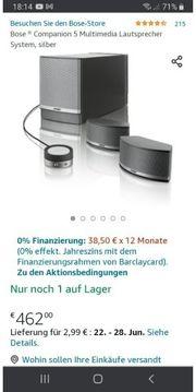 Bose Companion 5 Multimedia Lautsprecher