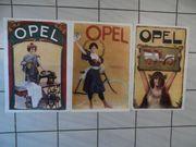 Opel Poster Plakat - Nähmaschine - Motorwagen
