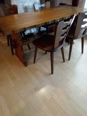 Esstisch Eiche mit 4 Stühlen