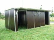 Fahrbare Weidehütte Außenbox mobiler Weideunterstand