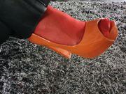 Pumps Highheels Stilettos Damenschuhe getragen