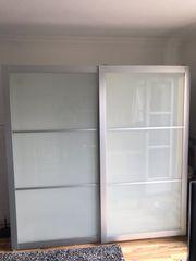 IKEA PAX Glasschiebetüren Schrank 200x201x58cm