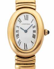 Cartier Baignoire 8057912 Gelbgold Quarz