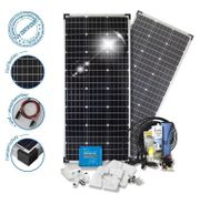 Autarkpaket 100AH Lifepo 300W Solar