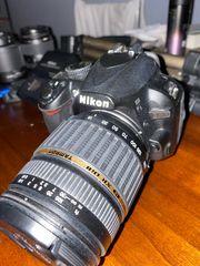 Nikon D3100 mit Zubehör