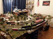USA Modelleisenbahn Komplettanlage H0 Gleichstrom