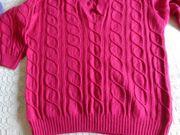 Vintage Strickpullover Pullover Zopfmuster Handarbeit