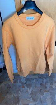 Stone Island Sweater Farbe orange