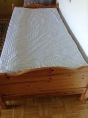 Ein Bett 1x2 Meter kompl