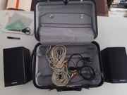 Aktiv Lautsprecher Videologic mit HartschalenKoffer