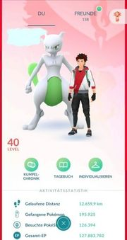 Pokemon Go Account 6x Lv40