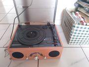 Plattenspieler radio