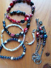 Armband mit Schlüsselanhänger selbstgemacht Handmade