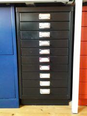 Bisley Schubladencontainer schwarz A3