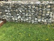 Steinmauer Gabbione