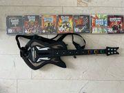 Playstation 3 Guitar Hero mit