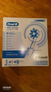 Elektrische Zahnbürste Oral b pro6000